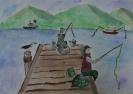 Рисунки учащихся Корякской ДШИ им. Кабалевского